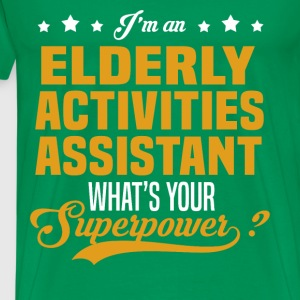 Elderly Activities Assistant T-Shirts - Men's Premium T-Shirt