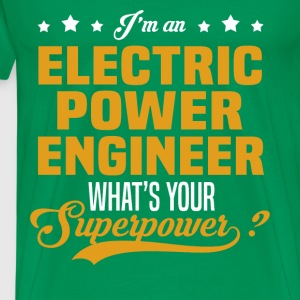Electric Power Engineer T-Shirts - Men's Premium T-Shirt