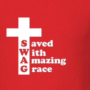 SWAG Cross T-shirt - Men's T-Shirt