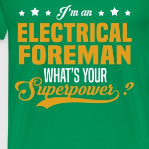 Electrical Foreman T-Shirts - Men's Premium T-Shirt