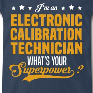 Electronic Calibration Technician T-Shirts - Men's Premium T-Shirt