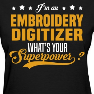 Embroidery Digitizer T-Shirts - Women's T-Shirt