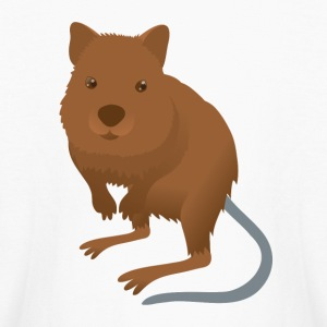 Quokka cute mammal from australian rottnest PERTH Kids' Shirts - Kids' Long Sleeve T-Shirt