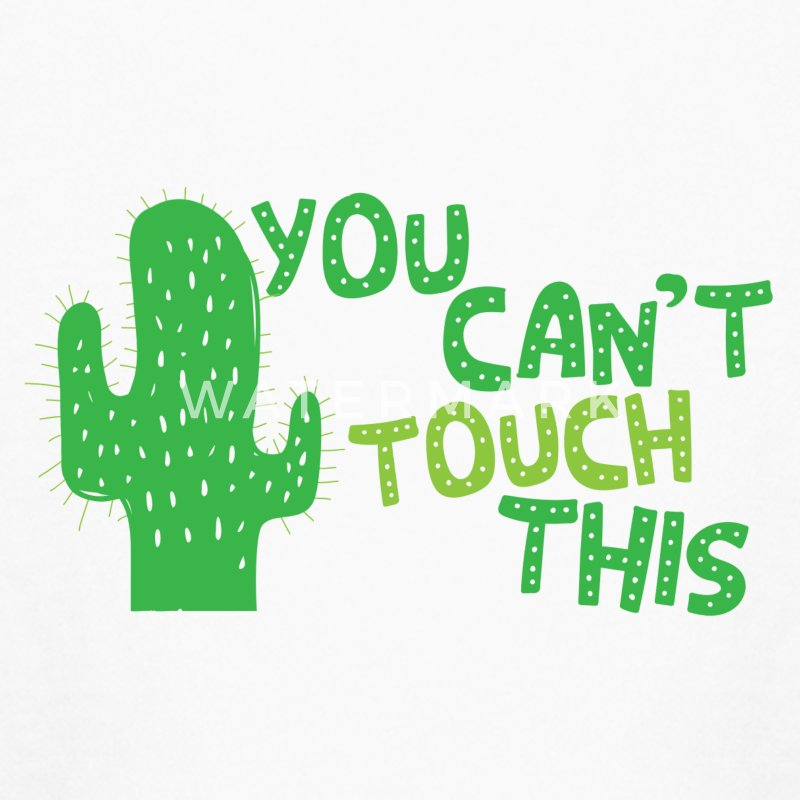 You cant touch this!  (spiked cactus) Kids' Shirts - Kids' Long Sleeve T-Shirt