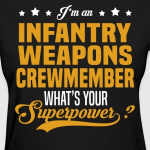 Infantry Weapons Crewmember T-Shirts - Women's T-Shirt