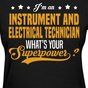 Instrument and Electrical Technician T-Shirts - Women's T-Shirt