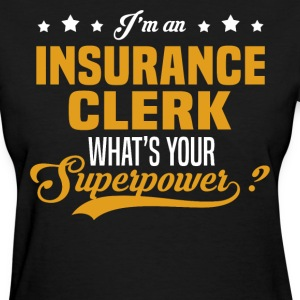 Insurance Clerk T-Shirts - Women's T-Shirt