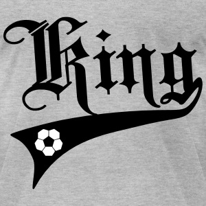 King Of Soccer (football) T-Shirts - Men's T-Shirt by American Apparel