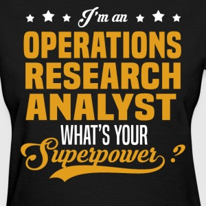 Operations Research Analyst T-Shirts - Women's T-Shirt