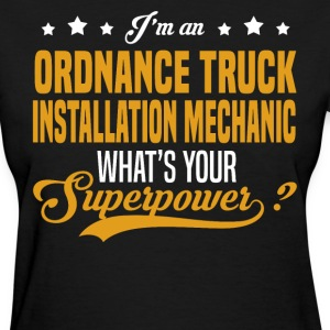 Ordnance Truck Installation Mechanic T-Shirts - Women's T-Shirt