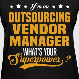 Outsourcing Vendor Manager T-Shirts - Women's T-Shirt
