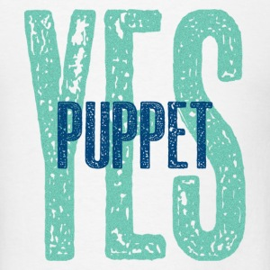 Yes Puppet - Men's T-Shirt