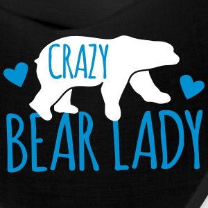 crazy bear lady Caps - Bandana
