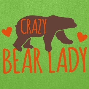 crazy bear lady Bags & backpacks - Tote Bag