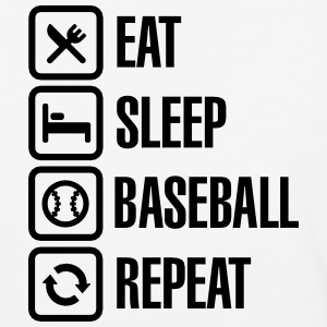 Eat, Sleep,  Baseball / Softball, Repeat T-Shirts - Baseball T-Shirt