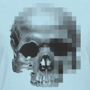digital skull T-Shirts - Women's T-Shirt