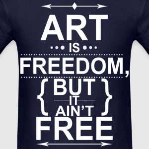 not free - Men's T-Shirt