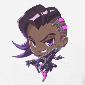 Overwatch Sombra cute T-Shirts - Women's T-Shirt
