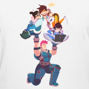 overwatch female squad T-Shirts - Women's T-Shirt