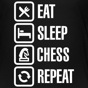 Eat Sleep Chess Repeat Baby & Toddler Shirts - Toddler Premium T-Shirt