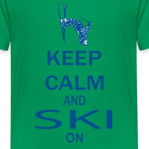Keep On Skiing - Kids' Premium T-Shirt