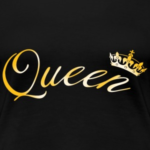 Queen Crown T-Shirts - Women's Premium T-Shirt