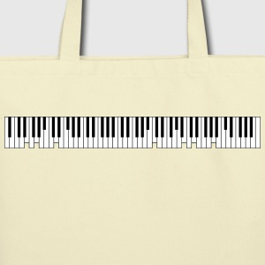 Grand Piano Bags & backpacks - Eco-Friendly Cotton Tote