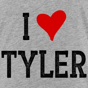 I Love Tyler - Toddler Premium T-Shirt