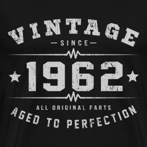 1962 Aged To Perfection T-Shirts - Men's Premium T-Shirt