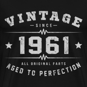 1961 Aged To Perfection T-Shirts - Men's Premium T-Shirt