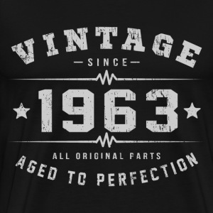 1963 Aged To Perfection T-Shirts - Men's Premium T-Shirt
