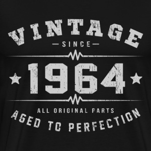 1964 Aged To Perfection T-Shirts - Men's Premium T-Shirt