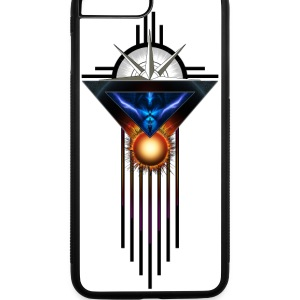 Wings Of Lightning Deco Flow iPhone 7 Plus Rubber  - iPhone 7 Plus Rubber Case