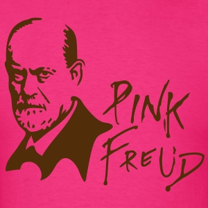 PINK FREUD High Quality Printing for Clear Colors - Men's T-Shirt