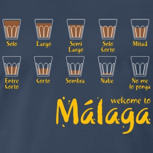 Welcome to Malaga (red) T-Shirts - Men's Premium T-Shirt