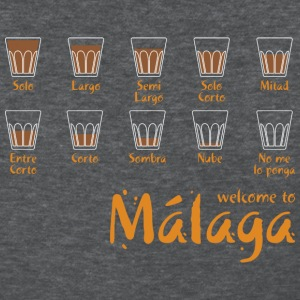 Welcome to Malaga (blue) T-Shirts - Women's T-Shirt
