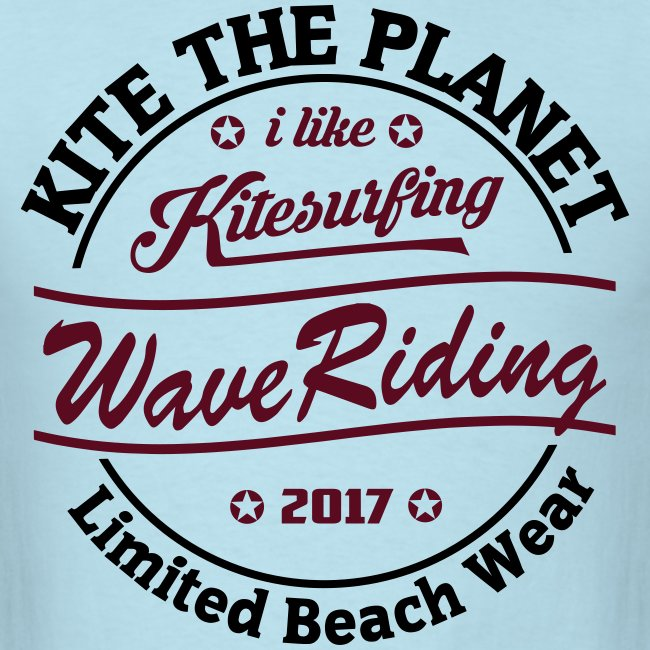 Kite The Planet Wave Riding free color
