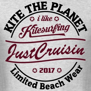 Kite The Planet Just Cruisin free color - Men's T-Shirt