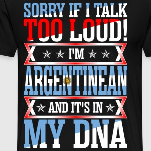 I Am Argentinean And Its In My DNA T-Shirts - Men's Premium T-Shirt