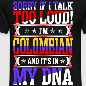 I Am Colombian And Its In My DNA T-Shirts - Men's Premium T-Shirt