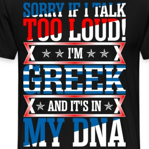 I Am Greek And Its In My DNA T-Shirts - Men's Premium T-Shirt