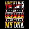 I Am German And Its In My DNA T-Shirts - Men's Premium T-Shirt