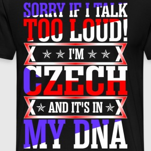 I Am Czech And Its In My DNA T-Shirts - Men's Premium T-Shirt
