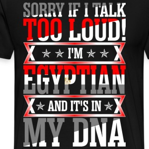 I Am Egyptian And Its In My DNA T-Shirts - Men's Premium T-Shirt