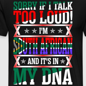 I Am South African And Its In My DNA T-Shirts - Men's Premium T-Shirt