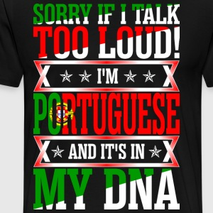 I Am Portuguese And Its In My DNA T-Shirts - Men's Premium T-Shirt