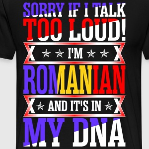 I Am Romanian And Its In My DNA T-Shirts - Men's Premium T-Shirt