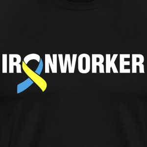 Down Syndrome Ironworker T-Shirts - Men's Premium T-Shirt