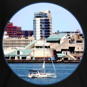 Philadelphia PA - Sailboat by Penn's Landing Kids' Shirts - Kids' Premium Long Sleeve T-Shirt