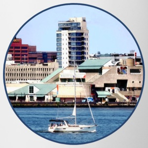 Philadelphia PA - Sailboat by Penn's Landing Mugs & Drinkware - Coffee/Tea Mug